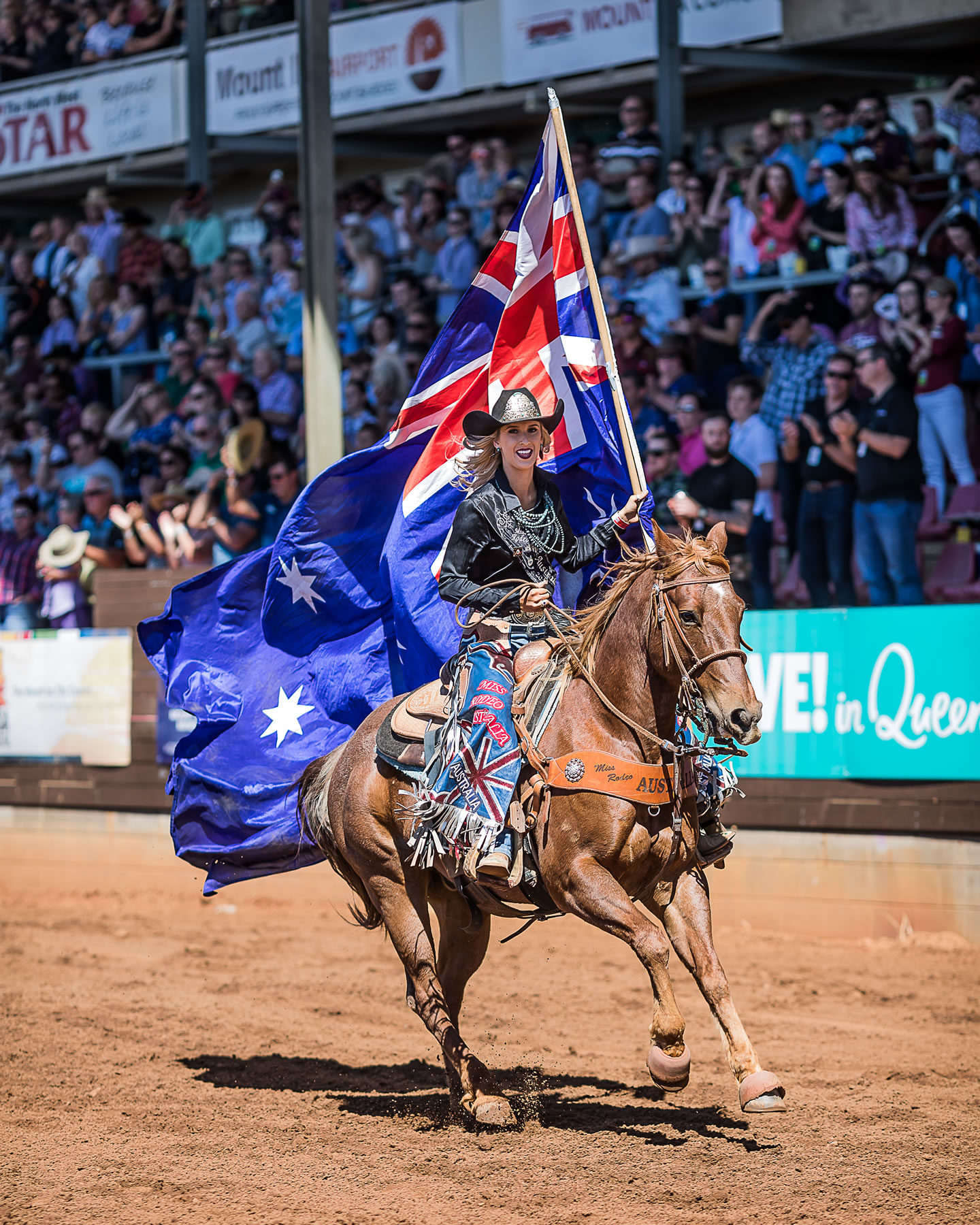 Thursday 8th Mount Isa Rodeo