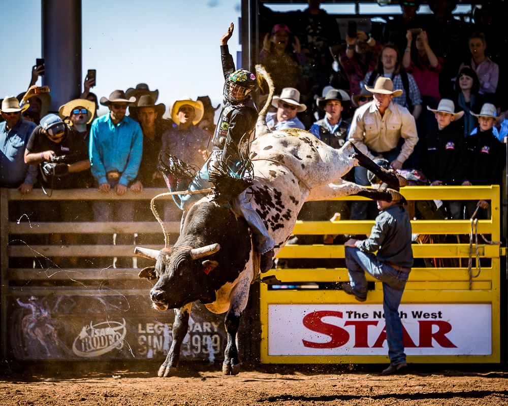 MI811885 Roy Dunn on board 'Blossom' for 84pts in the short go, 2018 and he goes on to win the Open Bull Ride Championship title
